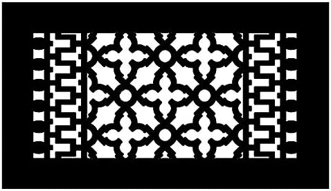 Reggio Register Scroll We OFFer at cheap prices Series - Cast Grille 8 Iron Free shipping Metal Floor