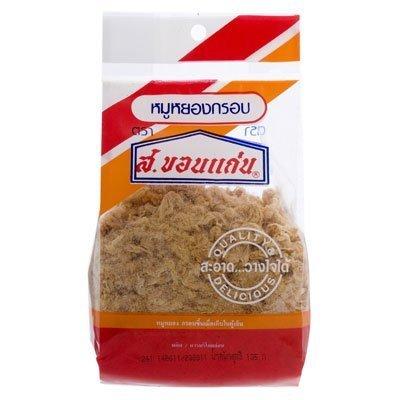 Crispy Sale item Dried Translated Pork S.khonkaen Brand 100g. 2 Thailand Pack Yummy -