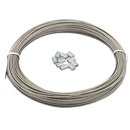 20-Pound Hanging Solutions Size No.3 Super Softstrand Vinyl Coated Stainless Steel Picture Wrapping Wire