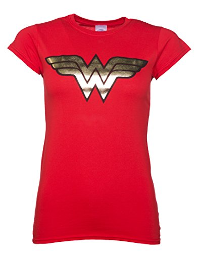 Official Wonder Woman Foil Women's T-Shirt (S)
