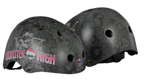 Monster High 960102/3 Drop Dead Gogeous Casque pour Enfant Noir/Gris Taille 54-58