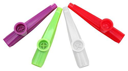 Classic Cantabile Fun Kazoo - Kunstoff Pfeife mit sehr leichter Ansprache - Kinder Mundflöte - Spaßinstrument