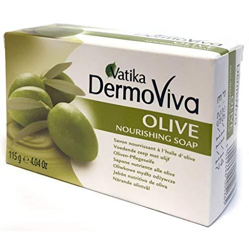 Vatika Naturals Olive Soap 115 g by Vatika Naturals