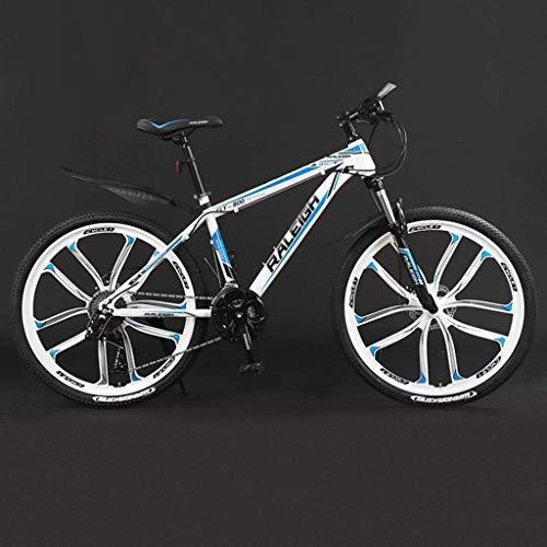 Buy Bargain HongLianRiven 26 Inch Mountain Bike Bicycle, Aluminum Alloy Frame,Double Disc Brake, 21/...