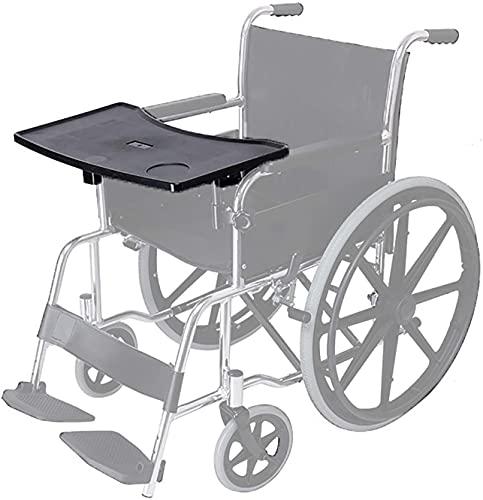 N\A Bandeja de Caminatas para sillas de Ruedas, Mesa de Comedor Profesional Anti de Alquiler de Silla de Ruedas, Accesorios adecuados para Personas Mayores para Comer y Leer en la Silla de Ruedas