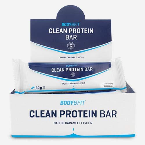 Body & Fit Clean Protein Bar Salted Caramel 720 gramm (12 riegel)