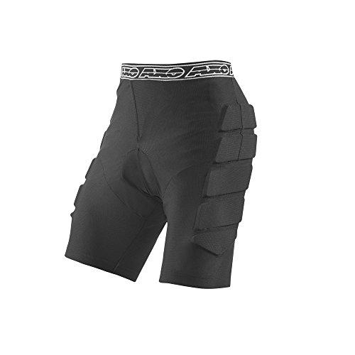 AXO Motocross Protector Rhino Pantalones, color Negro, talla S/M