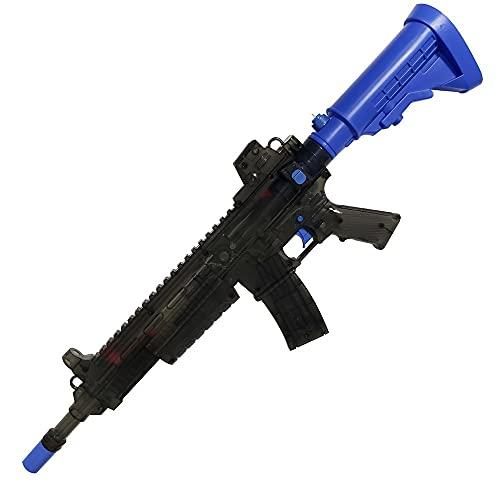 TT GO Pistola de Agua Pistola de Agua de Verano para niños, Pistola de Agua con Sonido Emocionado y iluminación Brillante, Juguetes Divertidos para la Piscina al Aire Libre Patio de jardín
