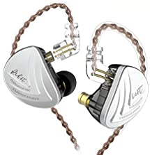 KZ AS16 in Ear Monitor Earphone Pure 8 Balanced Armature Drivers Per Side, KINBOOFI KZ Stage Monitor Earphone High Fidelity Earbuds Headphone (Black No Mic)