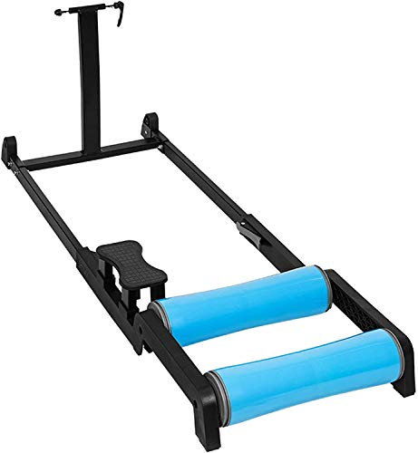 Bike Trainer Stand,Silent Roller Mountain Bike Training Stand,Compatible with Bikes That Have A Wheel Diameter of 24-29 Inches