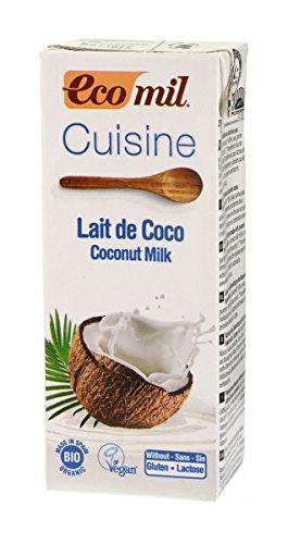 IJSALUT - Crema Leche Coco Bio Cocinar Natur-Green 200Ml