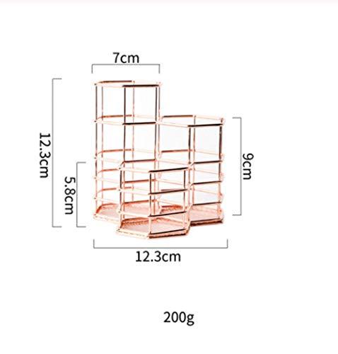 Multifunctionele Pen Houder Eenvoudige Iron Desktop Opslag Cosmetische Wenkbrauw Penseel Ontvangst Clip Pen Houder