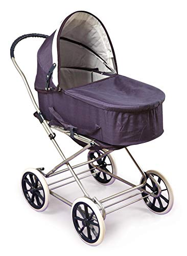 Badger Basket English Style 3-in-1 Doll Pram, Carrier, and Stroller (fits...