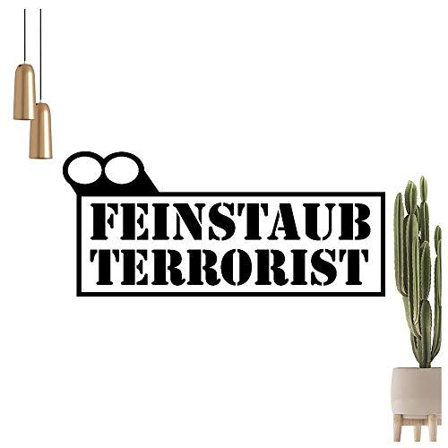 Graz Design - Adhesivo decorativo para pared, diseño con texto en alemán, 91_oro, 60 x 27 cm
