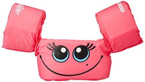 Lowest Price! Stearns Original Puddle Jumper Kids Life Jacket | Life Vest for Children, Pink Smile