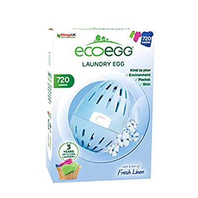 Ecoegg Laundry Egg, 720 Loads, Fresh Linen