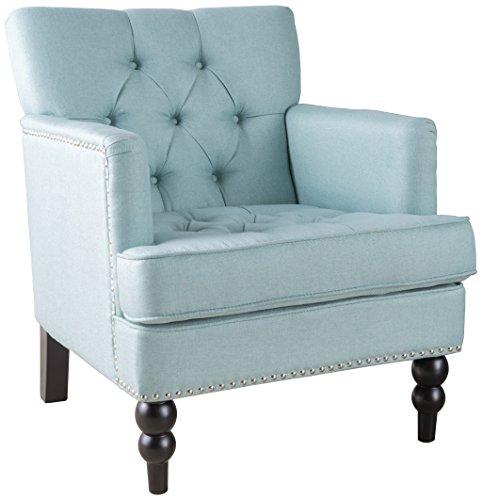 light blue chair - 1