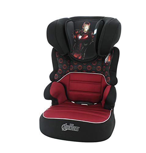Nania High Back Booster seat BEFIX groupe 2/3 (15-36kg) - Iron Man Marvel…