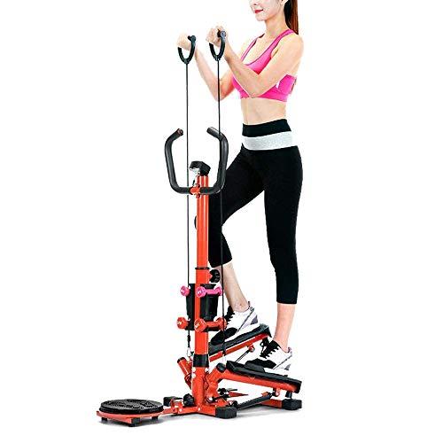 CWWHY Übungsschritt, Multifunktionale Fitness-Schaukel-Schrittmaschine Hydraulischer Schritt Mit LCD-Display, Zur Gewichtsreduktion Aerobic
