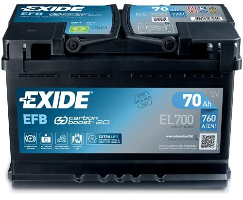 Fulmen - Autobatterie Start and Stop EL700 12V 70Ah 630A