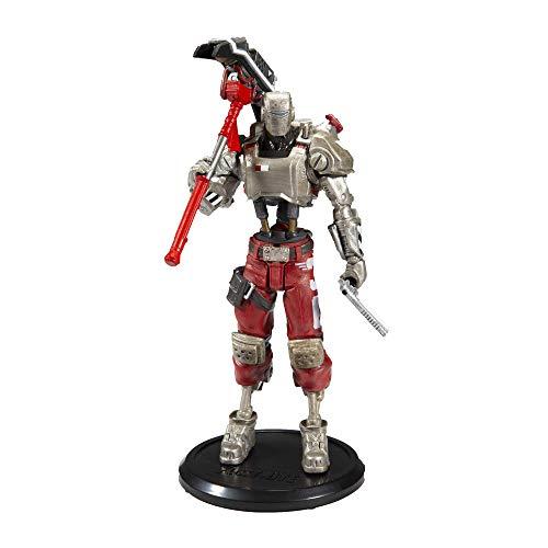 McFarlane Statuetta di Fortnite - Action figure A.I.M, 18 cm, silver, red, taglia unica