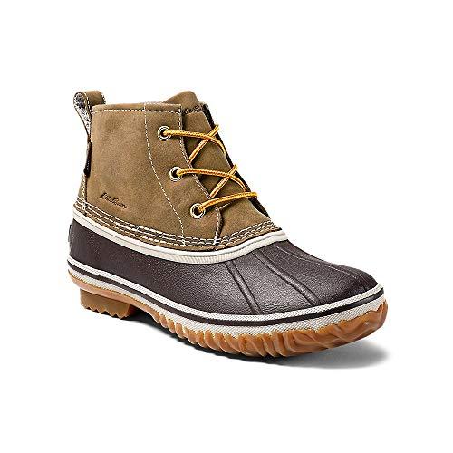 Eddie Bauer Women's Hunt Pac Mid Boot - Leather, Wheat Regular 9M