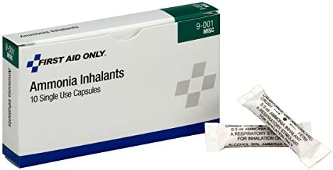 First Aid Only Ammonia Inhalants (Pack of 10)
