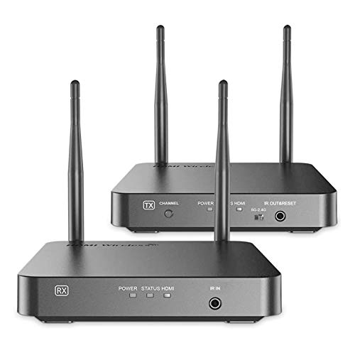 HDMI Wireless Extender, Ansten 328ft /100m Wireless AV Transmiiter and Receiver with Loop-Out...