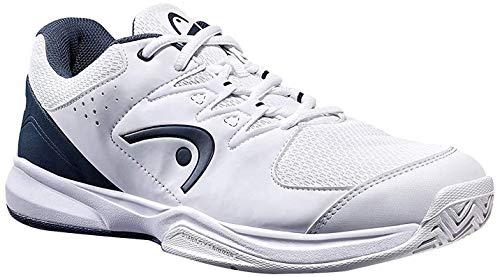 Head Brazer 2.0, Zapatillas de Tenis para Hombre, Blanco (White/Midnight Navy Whmn), 39 EU