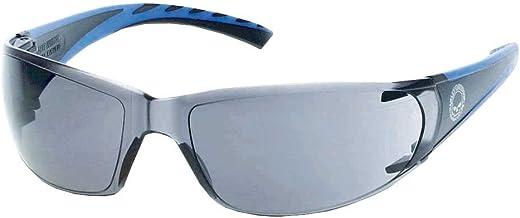 Harley-Davidson Men's Kickstart Skull Sunglasses, Black Frames & Smoke Lens