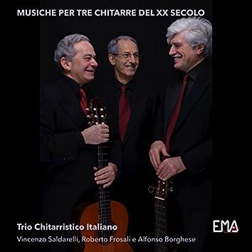 Trio Chitarristico Italiano: Musiche per tre chitarre del XX secolo