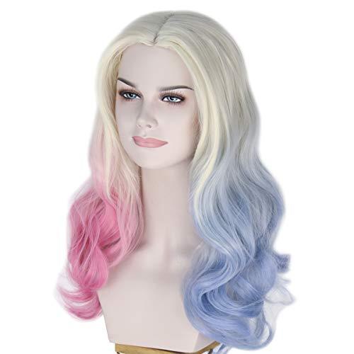 41UicCtrokL Harley Quinn Wigs