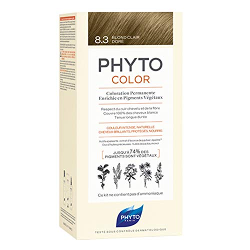 Phyto PhytoColor Permanente Haarfarbe, 8.3 Hellblond Gold