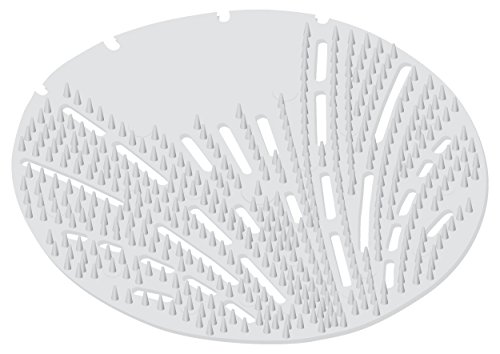 Big D 620 The Mini Pearl 3D Urinal Screen, Melon Mist Fragrance, White (Pack of 10) - Lasts up to 45 days - Ideal for restrooms in cruise ships, tour buses, childcare facilities, schools, offices