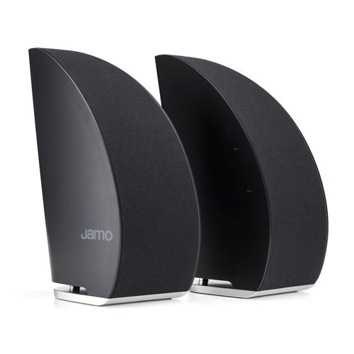 Jamo DS5 luidspreker, 40 W, zwart - luidspreker (2.0 kanalen, bekabeld & draadloos, Bluetooth, 40 W, 60 – 15000 Hz, zwart)