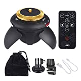 Alician AFI MRP01 Mini Electric Panorama Head 360 Rotation Time Lapse Tripod Ball Head for Phone Selfie Stick for GoPro Action Camera