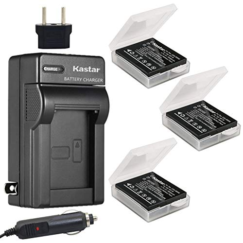 Kastar Battery 1X and Charger Replacement for Fujifilm NP-70 Fuji FinePix F20, F20 Zoom, F40fd, F45fd, F47fd and Leica D-LUX3, Leica C-LUX 1, Leica D-LUX2, Ricoh Caplio R3, Ricoh Caplio GR Cameras