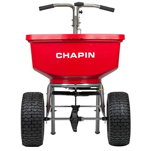 Chapin International 8400C Chapin Professional SureSpread Spreader, 100 Lb. Capacity-8400C, Red
