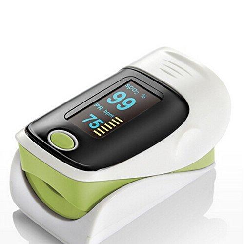YESDA PulsiOxímetro de dedo y monitor de frecuencia cardíaca