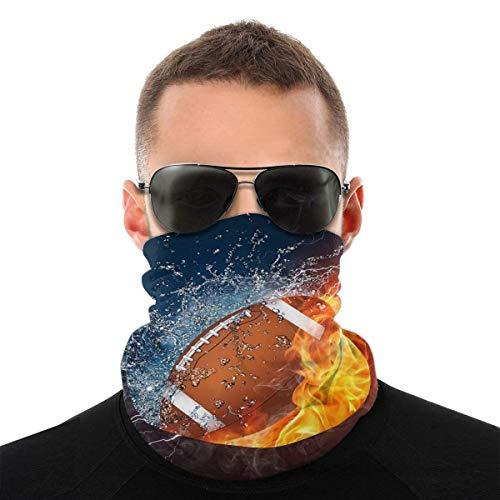 Ahdyr Wind- und Staubmaske,American Football Unisex Head Wrap Schal, Face Turban Stirnband cover, Halsgamaschen Bandana für Draussen-Sport
