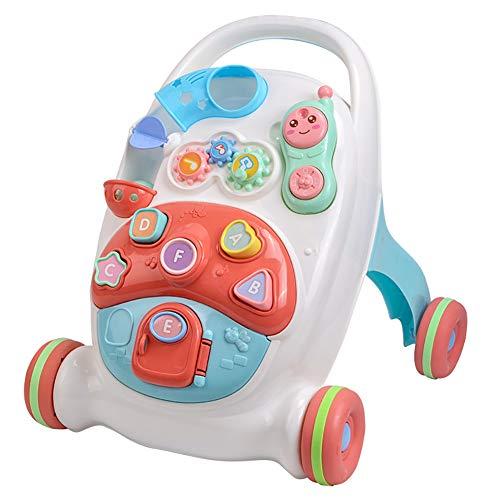 SLCE Correpasillos Andandín 3 En 1, Diseño Mejorado, Andador Bebé Interactivo Plegable Y Regulador De Velocidad, Andador, Correpasillos Bebé +6 Meses, Máquina De Aprendizaje De Inglés