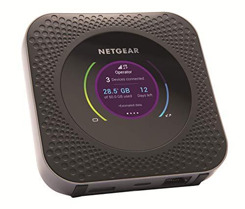 NETGEAR Routeur 4G sim box 4G LTE Nighthawk M1 (MR1100) - Débit 4G/4G+ jusquà 1Gbit/s| Connectez jusquà 20 appareils en WiFi | Votre WiFi sécurisé, partout | Déverrouillé, compatible tous opérateurs