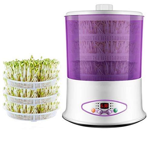 2 Capas / 3 Capas Multifuncional Verduras Brotes Máquina Semilla Germinador Inicio DIY Yogurt Rice Wine Maker 220 V,D