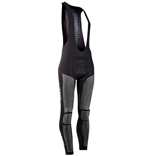 X-Bionic imperméable pour Adulte Biking windskin Ow Bib Elite Long Taille S Multicolore - Noir/Anthracite