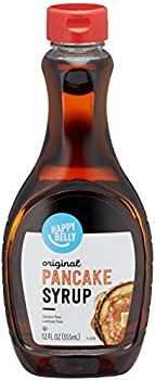 Amazon Brand Happy Belly 12 Fl Oz Pancake Syrup (Original Flavor)