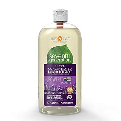 Seventh Generation Laundry Detergent, Ultra Concentrated EasyDose, Fresh Lavender, 23 oz (66 Loads)