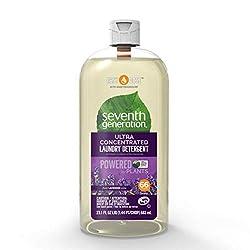 Seventh Generation Laundry Detergent, Ultra Concentrated EasyDose, Fresh Lavender, 23 oz, 66 Loads (