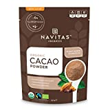 Navitas Organics Cacao Powder, 8oz. Bag — Organic, Non-GMO, Fair Trade, Gluten-Free