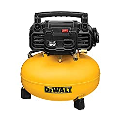 in budget affordable DEWALT Pancake Air Compressor, 6 gallons, 165 PSI (DWFP55126)