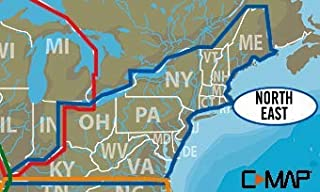 C-MAP LAKE INSIGHT HD – NORTH EAST US - Coverage Area: CT, DE, KY, MA, MD, ME, NH, NJ, NY, OH, PA, RI, VA, VT, WV